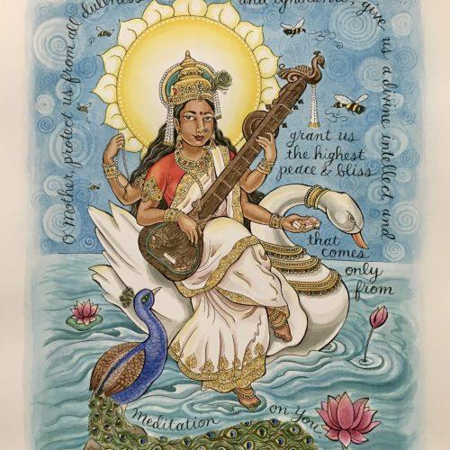 """Saraswati for Matece"""