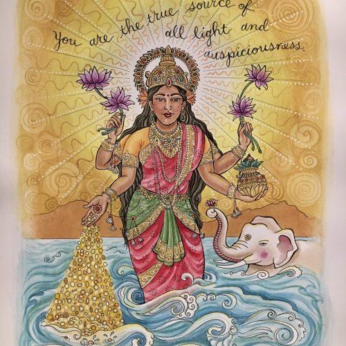 """Lakshmi for Matece"""